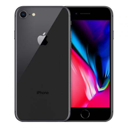 A1863 MQ6K2X/A (Ex Demo) iPhone 8 Space Grey 64GB- Phone supplied with lighting cable - Reconditioned by PBTech, 12 Months Warranty