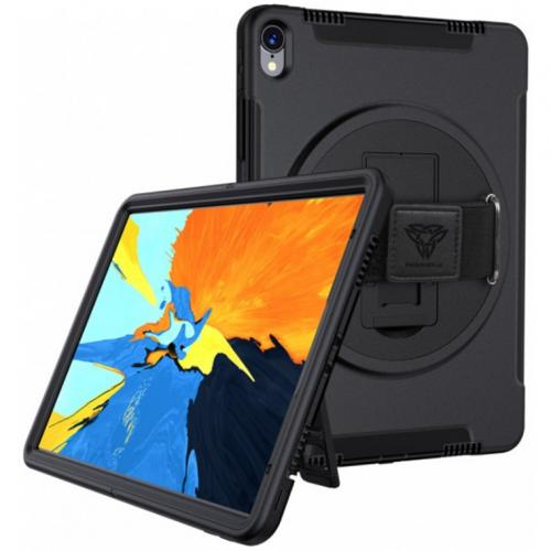 """Armor-X (RIN Series) RainProof Military Grade Rugged Tablet Case With Hand Strap & Kick-Stand for iPad Pro 11"""" (1st Gen Only ) -Clearance Special /While Stocks last /No Back order"""