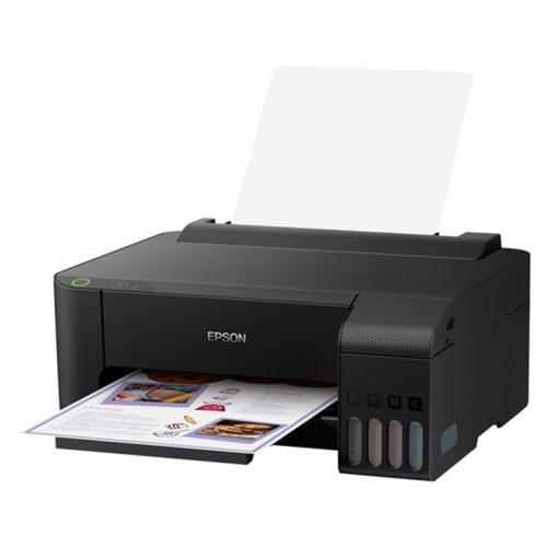 Epson EcoTank ET-1110 Colour Printer 100-sheet paper capacity, Small size, great performance