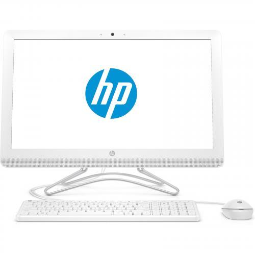 "HP 24-f0035a All in One PC 23.8"" FHD IPS AG AMD A6-9225 4GB 1TB HDD Win10Home 1yr warranty - WiFiAC + BT4.2, Privacy HD Webcam, Wired USB Keyboard/Mouse, USB 3.1 Gen1, in Snow White color"