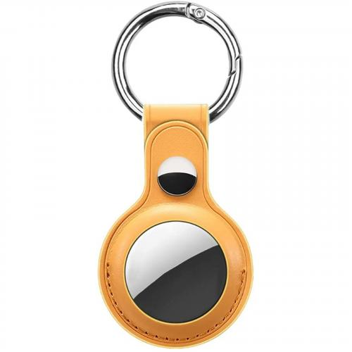 PU leather Key Ring for AirTag - Sunflower (OEM package)
