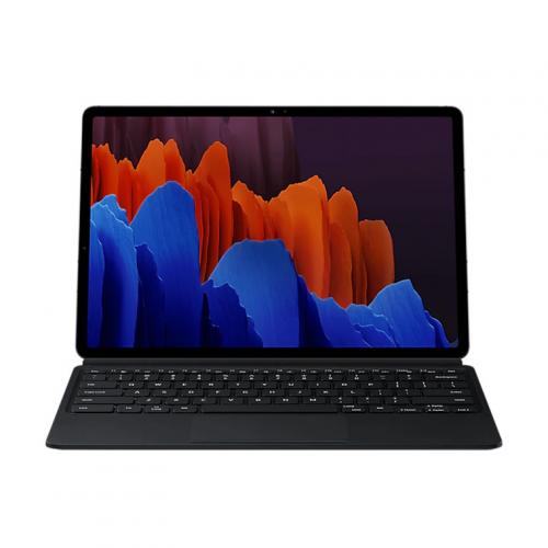 Samsung Galaxy Tab S7 + WiFi Only Tablet (Mystic Bronze) 128GB Bundle with Original S7 + Keyboard Cover