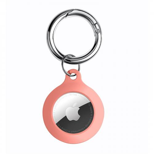 Silicone Key Ring for AirTag - Peach (OEM package)