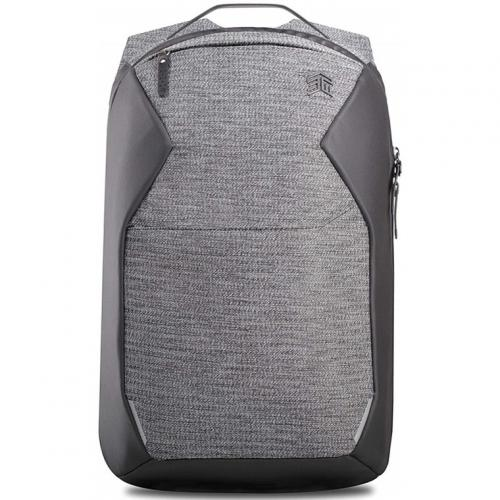 """STM Myth Backpack for 14.1-15.6"""" Laptop/Notebook, Capacity 18L Suitable for Business & Travel --- Granite Black, Fits most 15"""" screens and 16"""" MacBook Pro"""