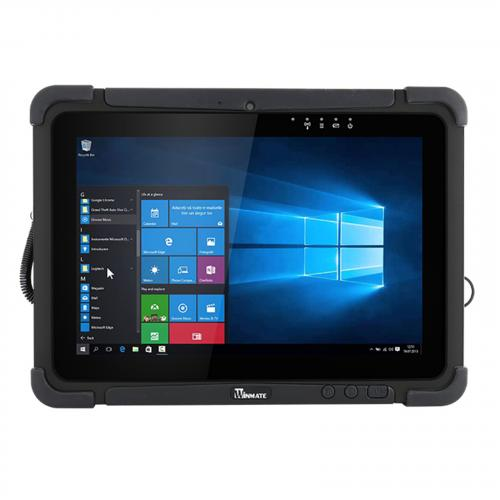 """Winmate M101P 4GB 128GB LTE 10.1"""" Long battery life Rugged Tablet, Win10 IoT, IP65, Intel cpu,1920x1200 IPS Panel with P-Cap Touch Dual Camera Design: 8MP Main camera with LED flash/2MP Webcam,"""