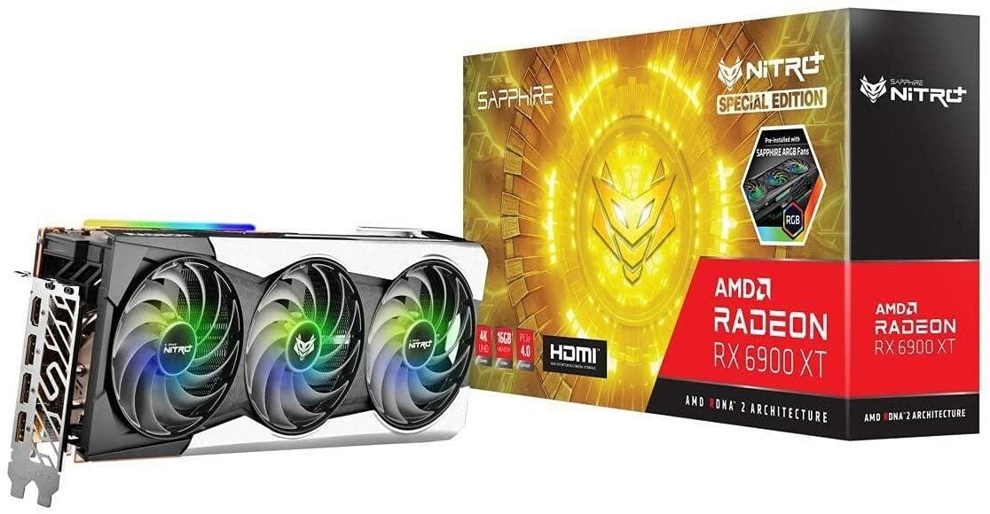 Sapphire Radeon RX 6900 XT SE Nitro+ 16G Graphics Card