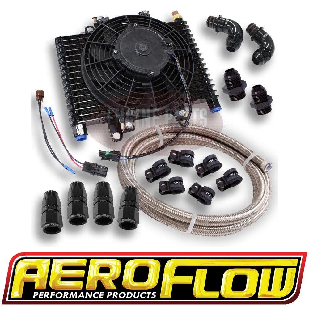 Aeroflow 4L60E 4-Speed Auto Transmission Oil Cooler Kit