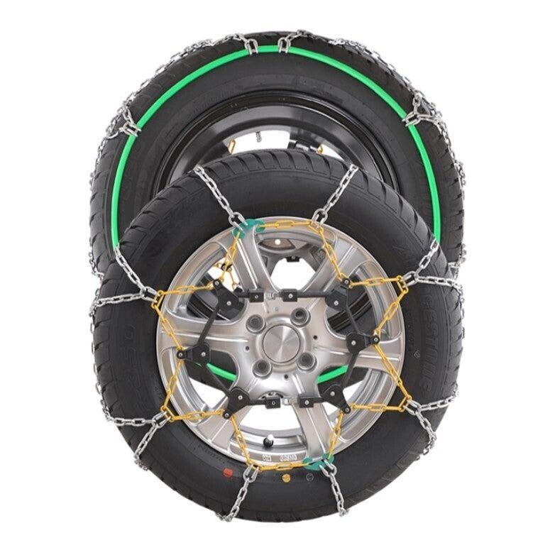 Autotecnica 16mm SUV snow chains Autofit fits 225/60R18 tyre size