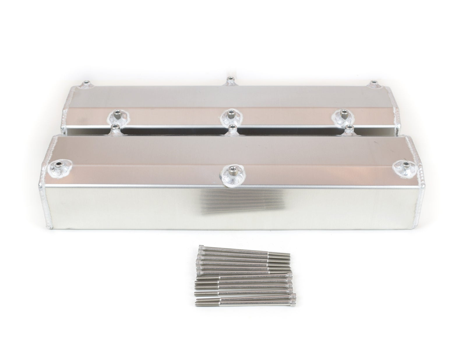 Canton Fabricated Aluminum Valve Cover For 302/351W Ford Small Block Ford Mustang II 1977 CN65300