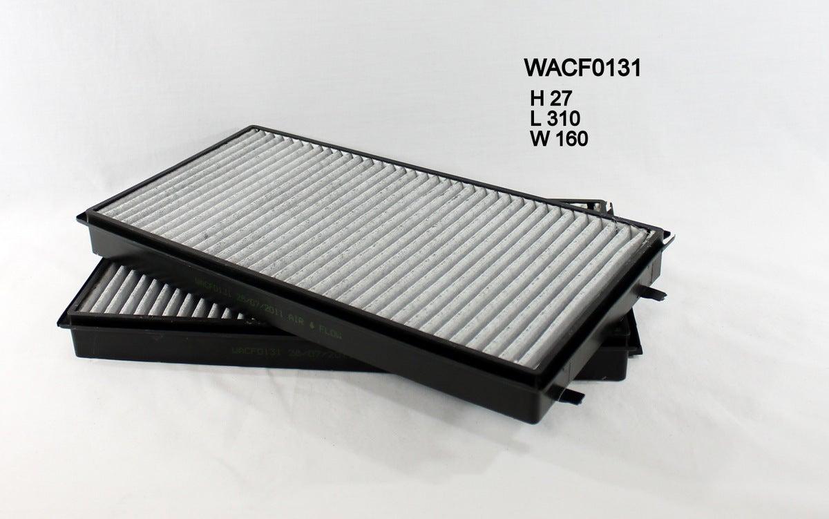 Cooper cabin filter for BMW 740Li 4.0L V8 05/05-02/09 E65/E66 Petrol N62B40A