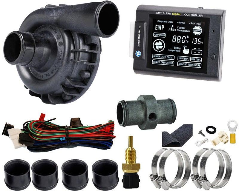 Davies Craig EWP & LCD Controller Kit Nylon Electric Water Pump 115 Litres/Min
