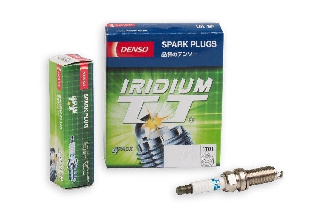 Denso Iridium TT spark plugs Jaguar XK X150 508PN 5.0L V8 32V