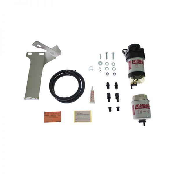 Direction Plus Diesel Filter Kit for Toyota Landcruiser Prado 150 2.8L Fuel Manager
