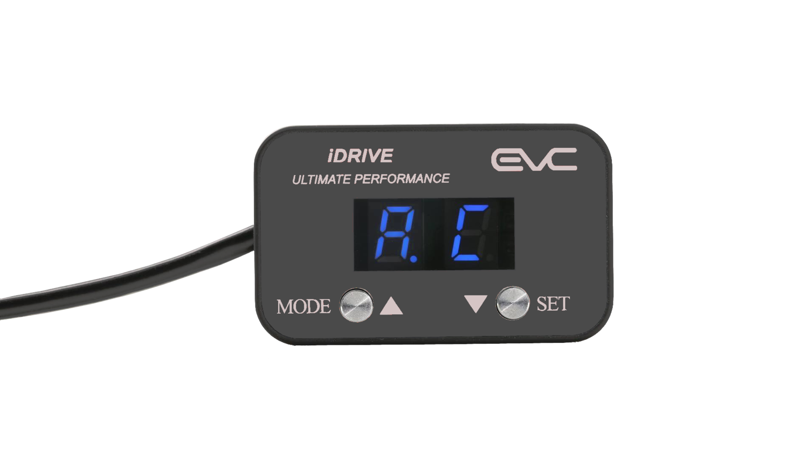 EVC iDrive Throttle Controller charcoal for Toyota Fortuner 2006-2015 EVC161L