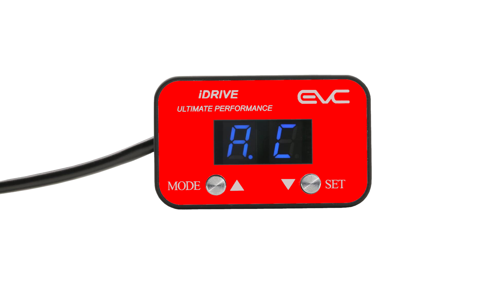 EVC iDrive Throttle Controller red for Volkswagen Touran 2005-On EVC201L