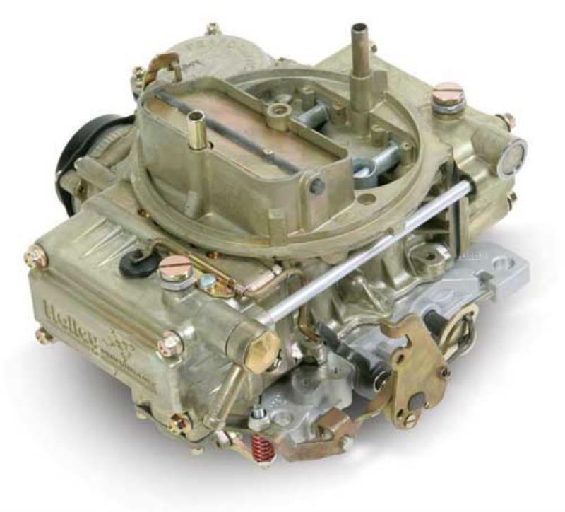 Holley 465cfm Classic 4-Barrel Carburettor Square Bore Pattern Vacuum Secondary