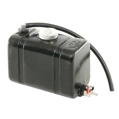 JAZ Fuel Cell Junior Dragster Plastic Black 2 Quarts Each