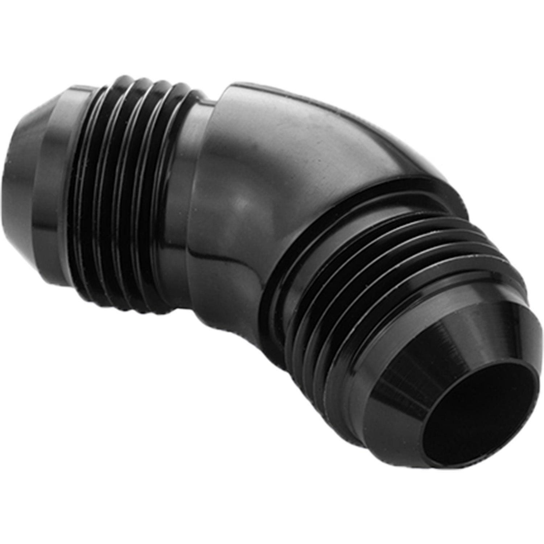 Proflow 45 Degree Union Flare Adaptor Fitting -12AN Black