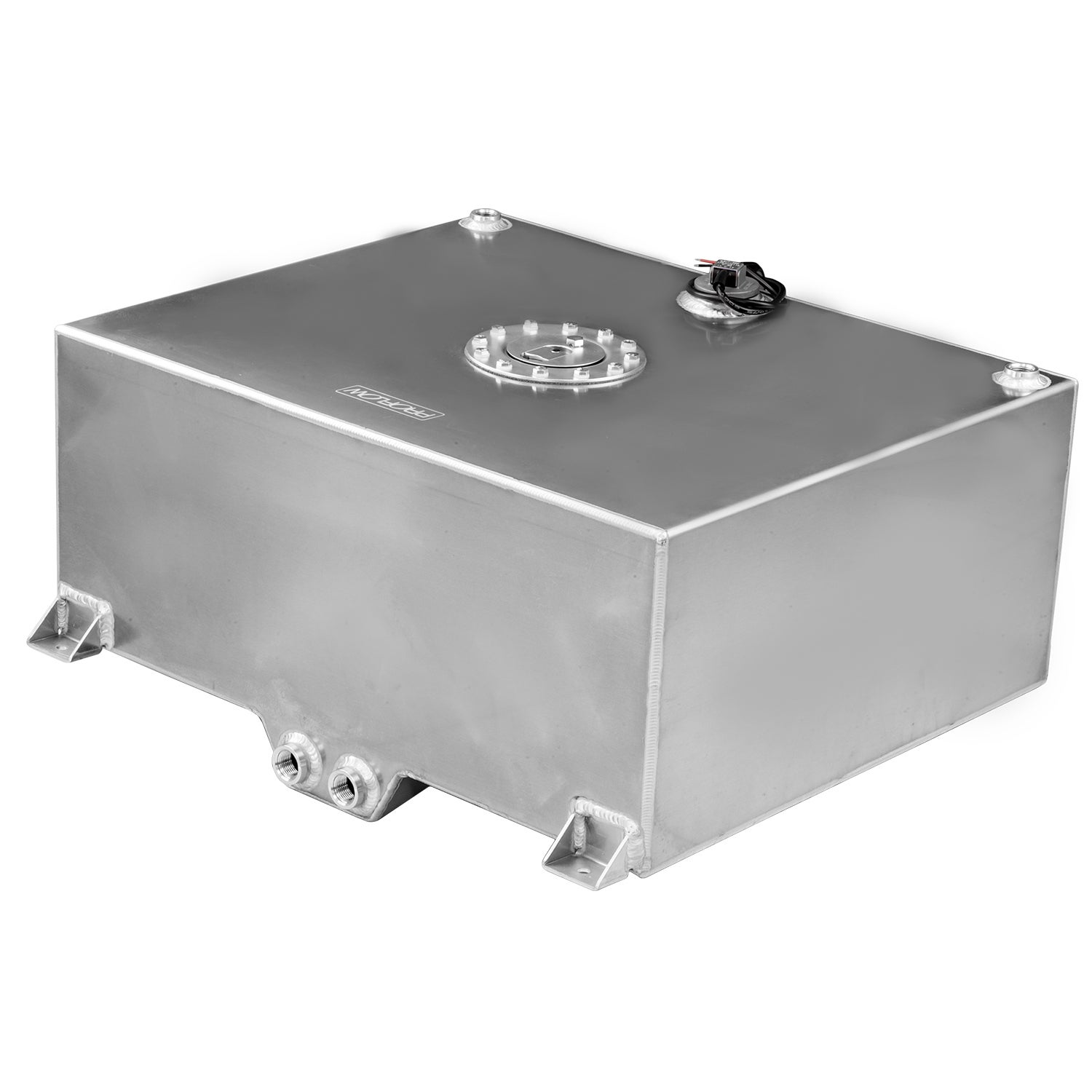 Proflow Fuel Cell Tank 15g 57 Aluminium Natural 510 x 4600 x 260mm With Sender Two -10 AN Female Outlets Each