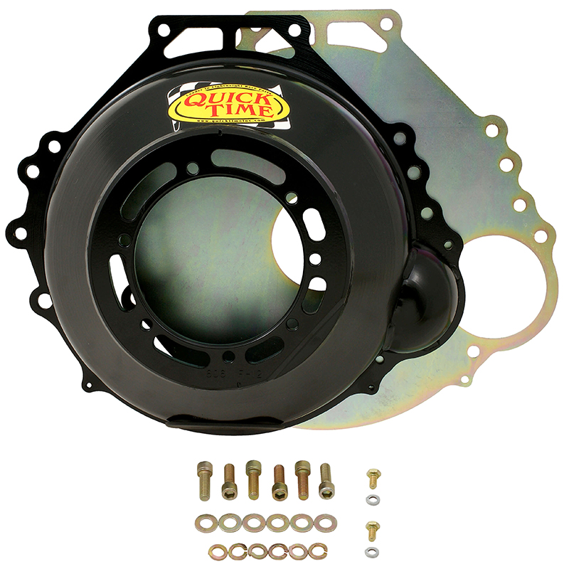 Quicktime Inc Steel SFI 30.1 Bellhousing Suit Ford 289-302-351 Windsor & 302-351 Cleveland With 157 Tooth C4 Transmission