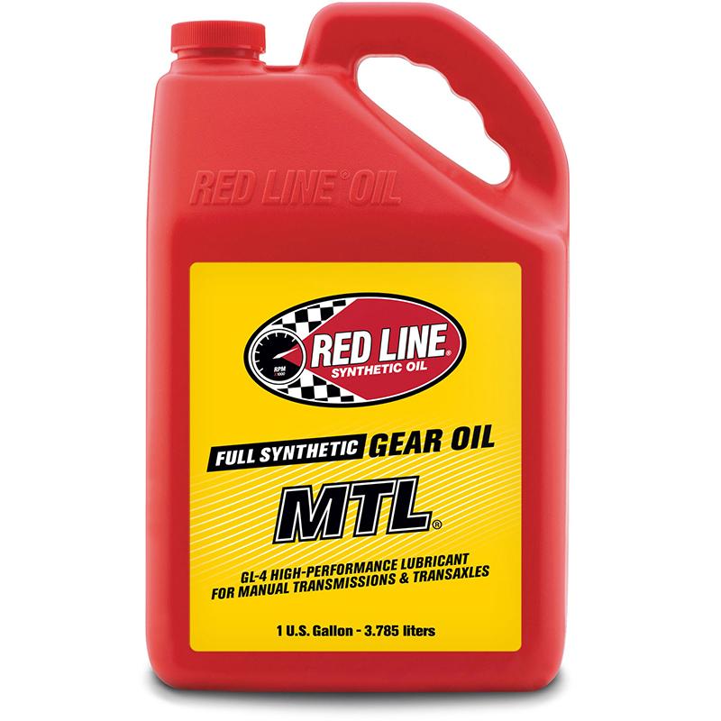 Red Line Oil MTL 75W80 GL-4 Gear Oil 1 Gallon Bottle 3.785 Litres