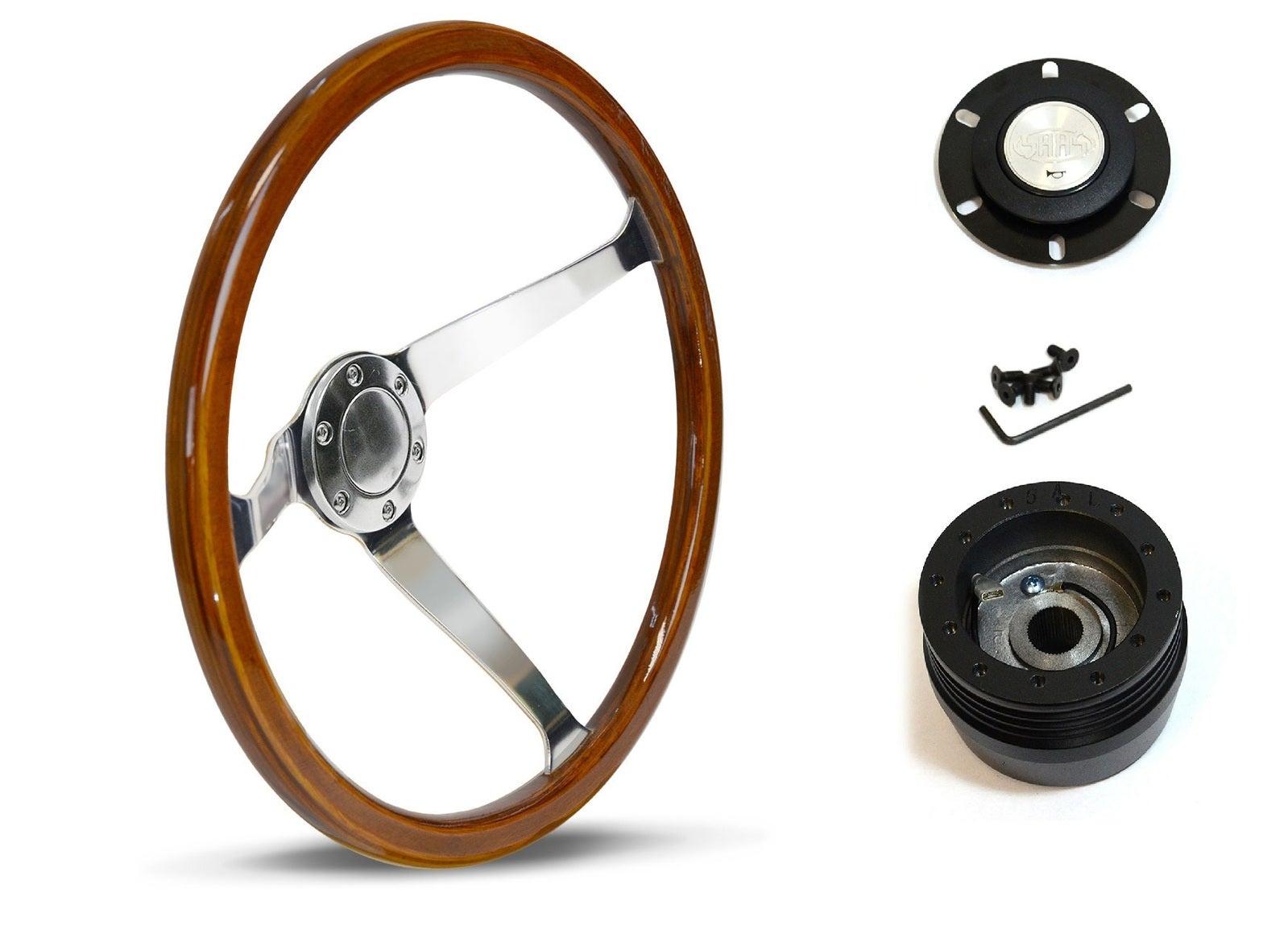 SAAS Steering Wheel SW15612 & boss for Mazda E1800 E2000 E2200 BRAVO