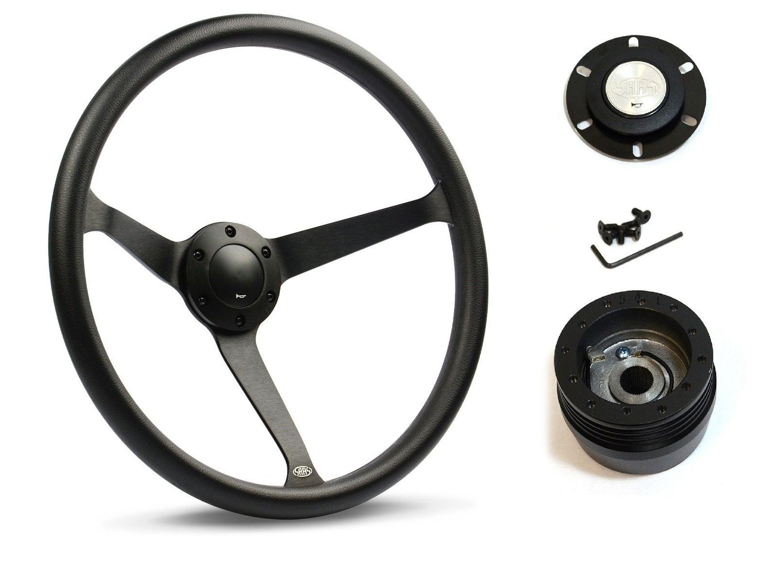 SAAS Steering Wheel SW25912 & boss for Chrysler Valiant VC VE 1966-1968