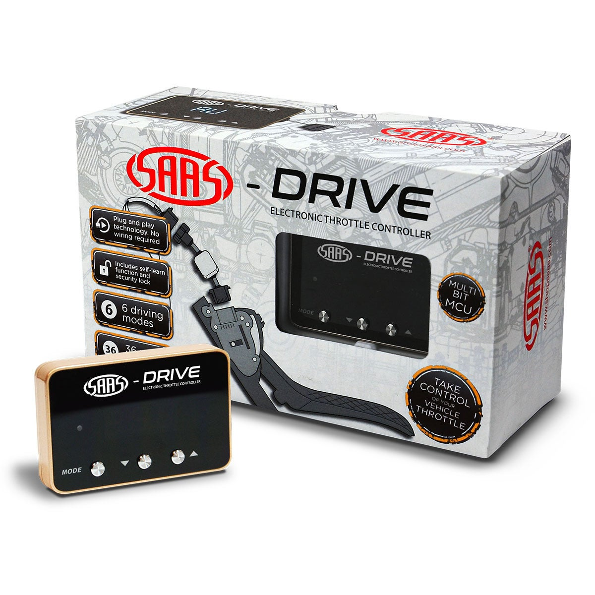 SAAS-Drive Throttle Controller For Mazda CX-8 2017 >
