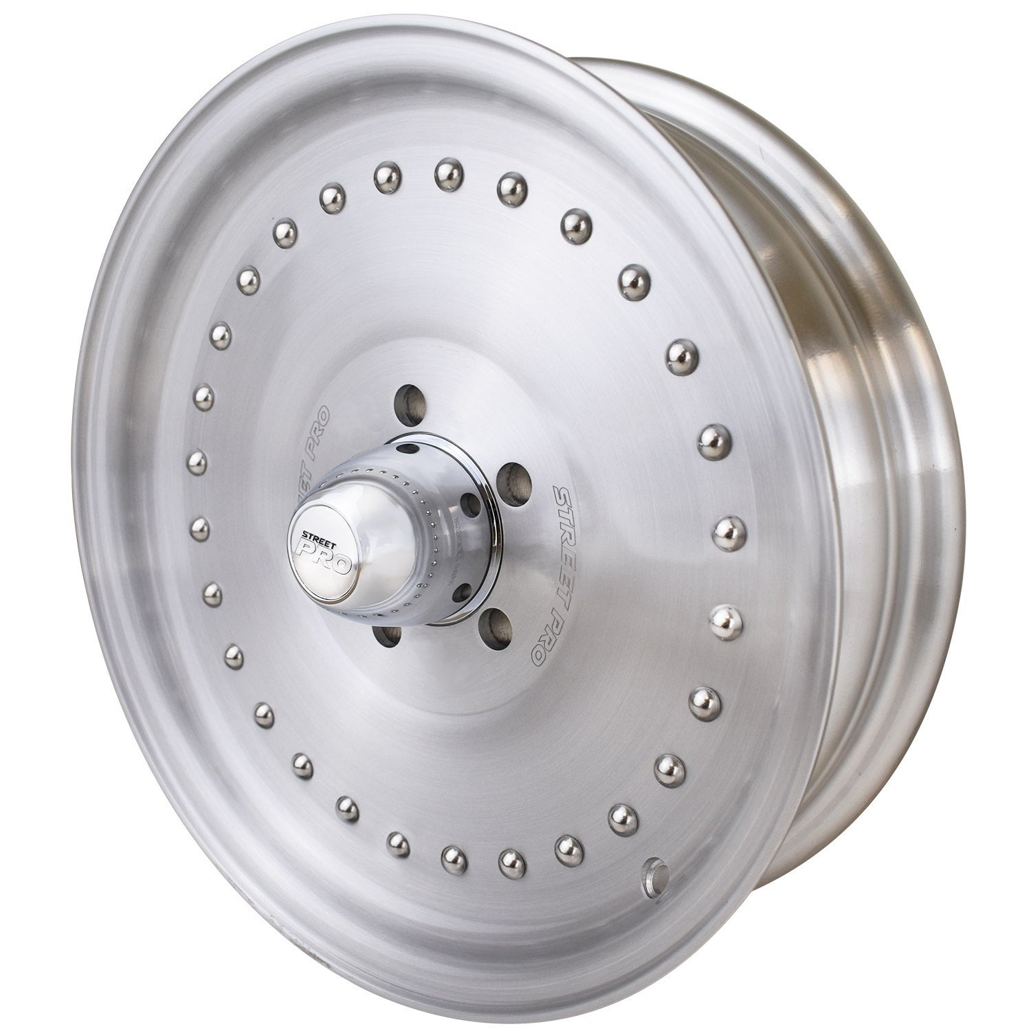 Street Pro 007 Series Wheel 17x4.5' For Holden Chevrolet 5 x 4.75' Bolt Circle -26) 1-3/4' Back Space