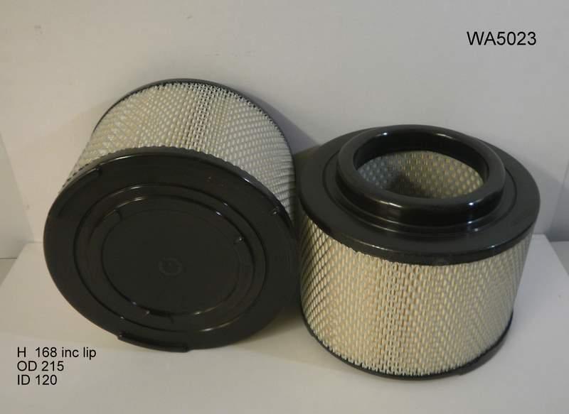 Wesfil air filter for Toyota Hilux 3.0L TD 12/13-09/15 KUN16/26 Turbo Diesel 4Cyl 1KD-FTV CRD DOHC 16V