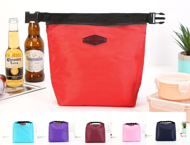 Insulated Lunch Bag Tote Container For Women Kids Office Work School (6 Colors Available)