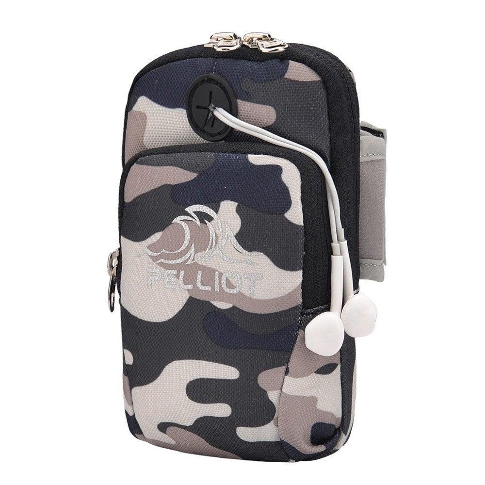 Armband mobile phone cover running small bag with earphone plug bag gym armband universal waterproof mobile wallet bag