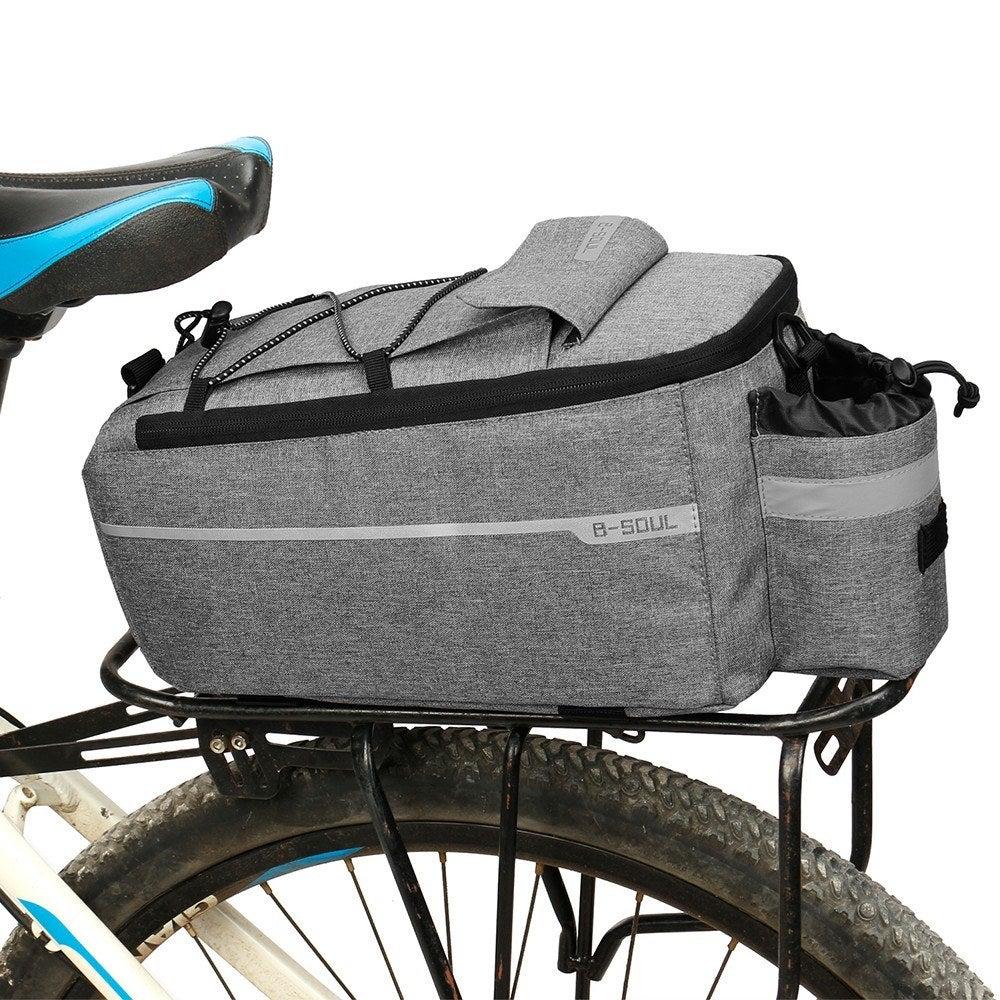 Bicycle Rear Rack Storage Luggage Bag Insulated Trunk Cooler Bag Cycling Reflective MTB Bike Pannier Bag Shoulder Bag