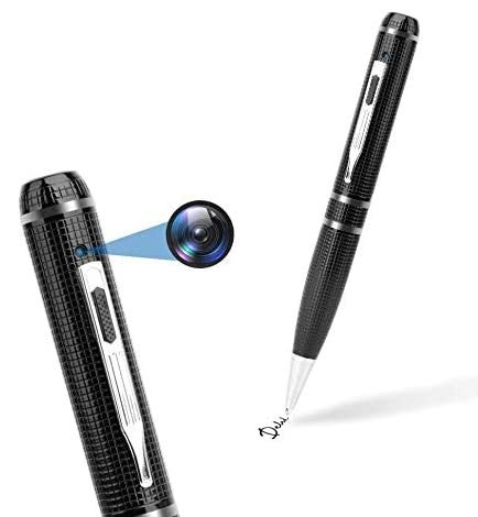 Full HD 720P spy pen camera with photo shooting, pocket DVR suitable for business and meetings- Sliver