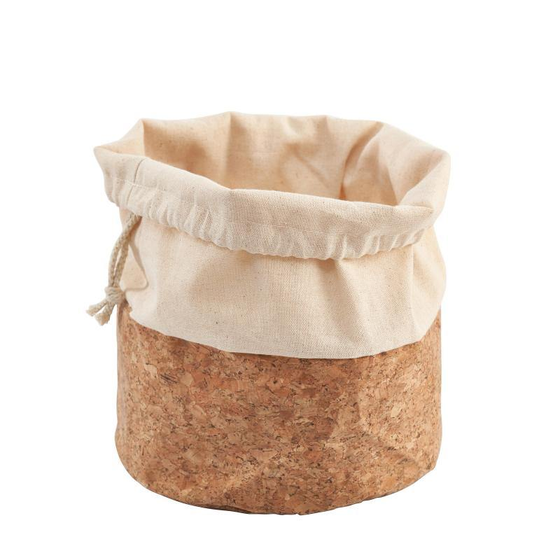 Karlstert Canvas Basket With String Large 14156