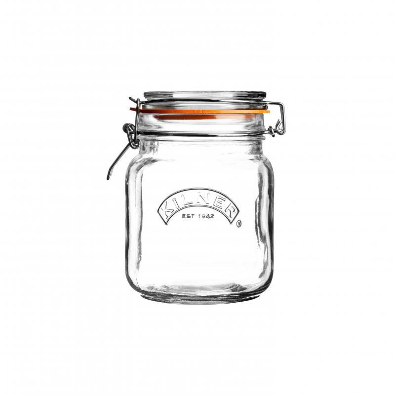 Kilner Square Clip Top Jar Glass #01653