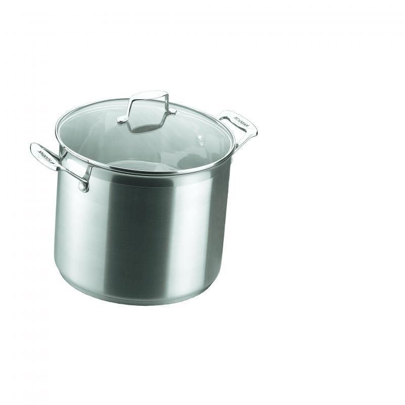 Scanpan Impact 7.2l Stainless Steel Stock Pot #22016