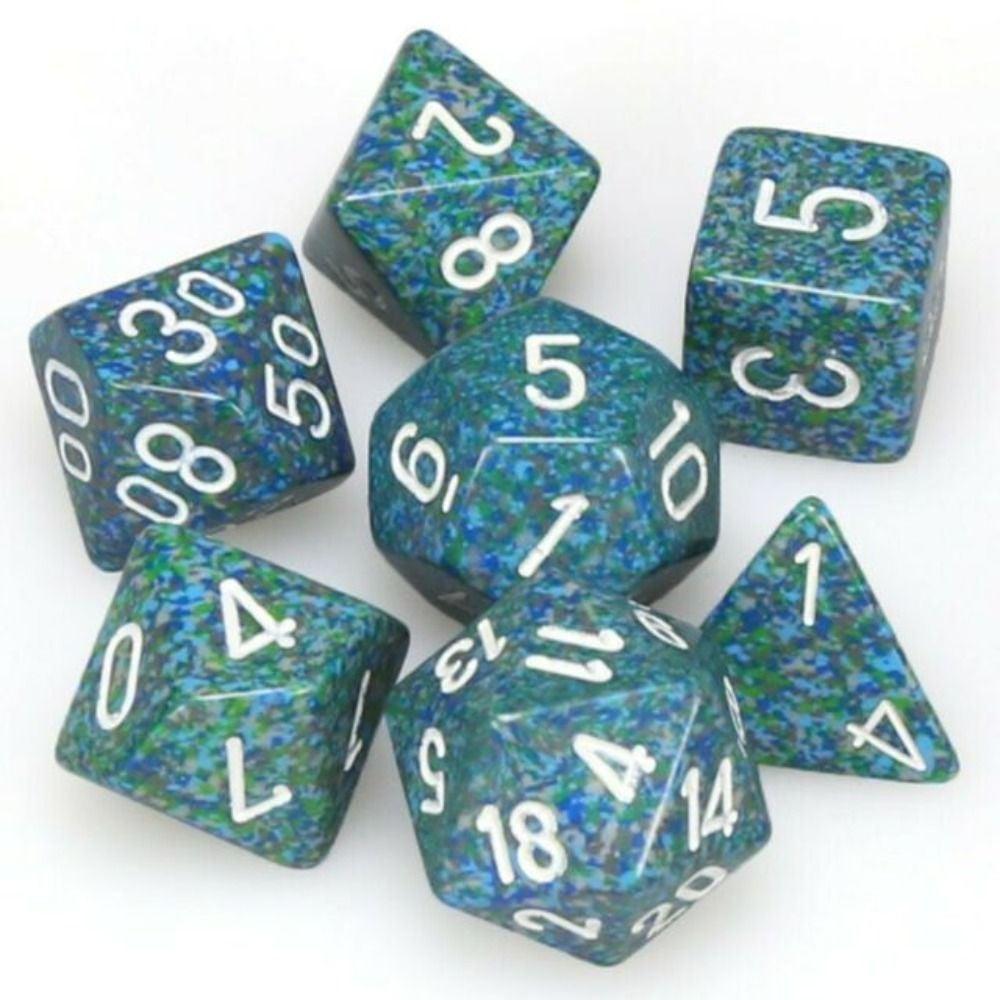 CHX 25316 Speckled Polyhedral Sea 7-Die Set