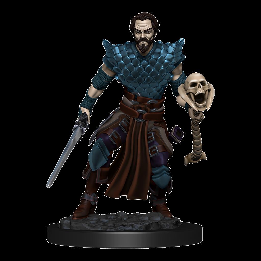 D&D Premium Painted Figures Human Warlock Male