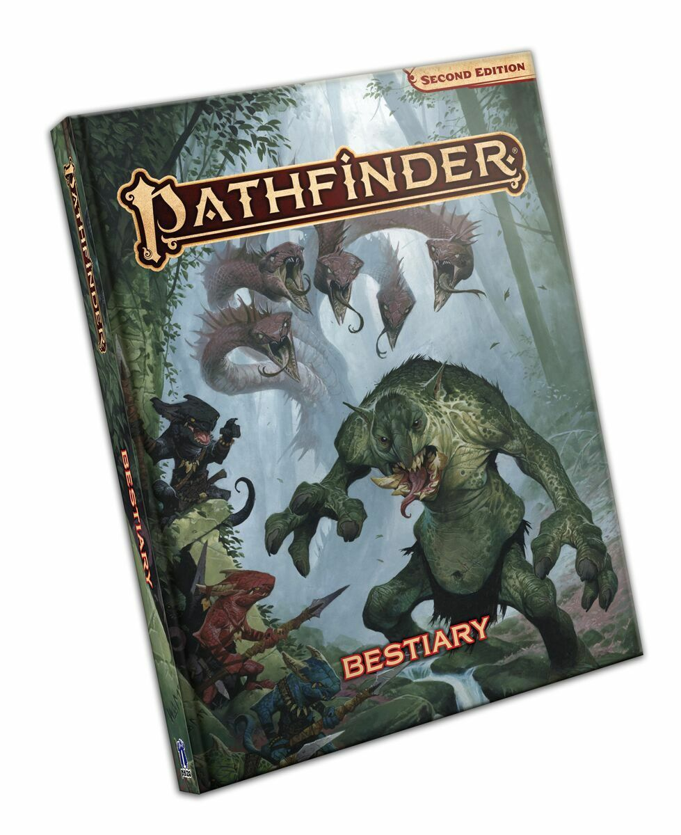 Pathfinder Second Edition Bestiary
