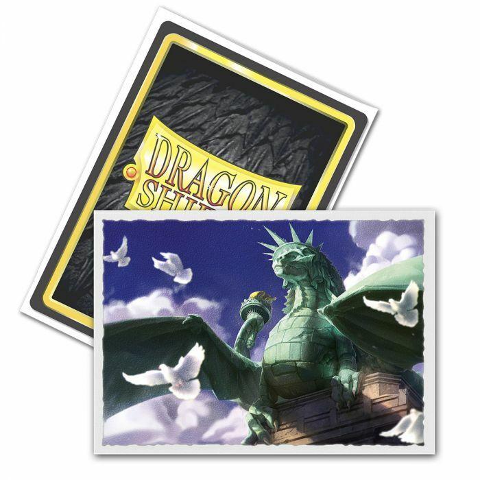 Sleeves - Dragon Shield - Box 100 - MATTE Art - Dragon of Liberty