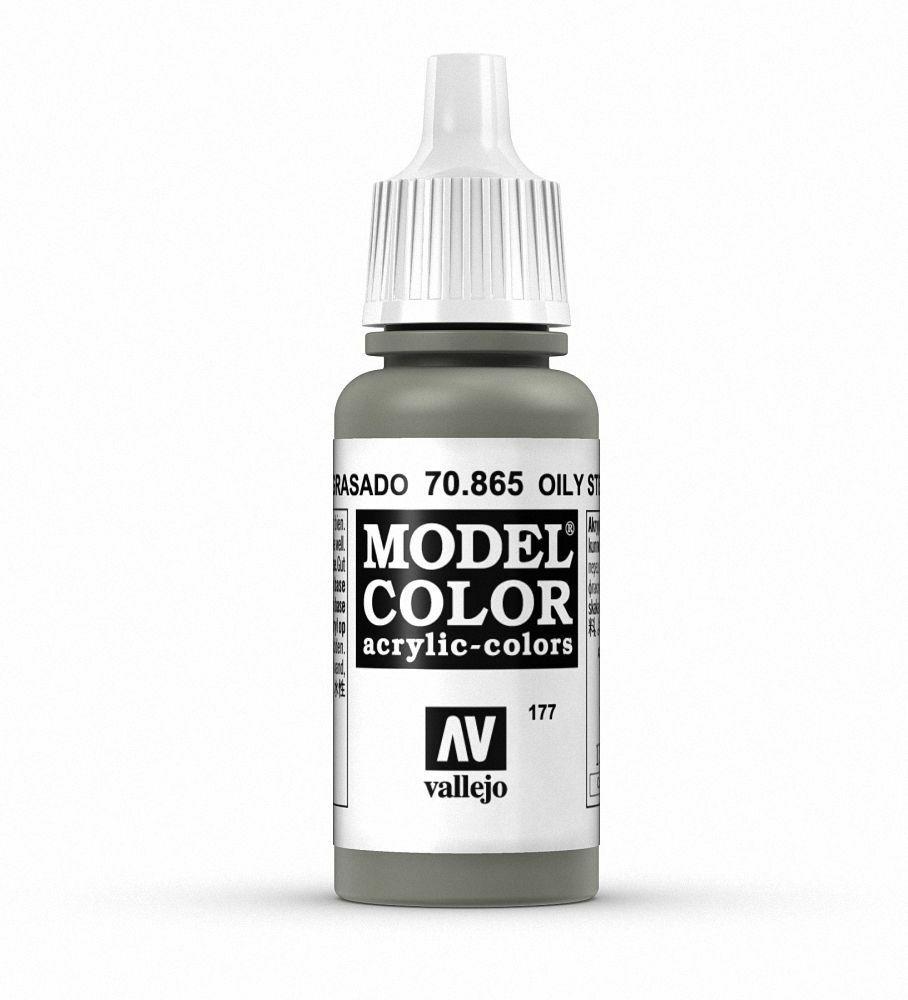 Vallejo Model Colour - Metallic Oily Steel 17 ml