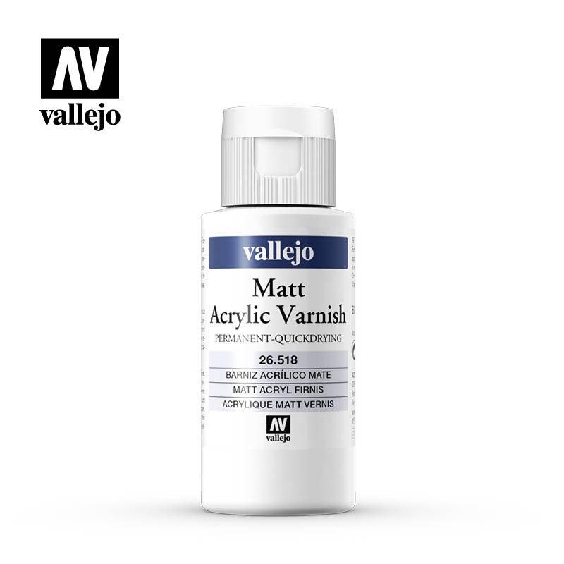 Vallejo Permanent Matt Varnish 60ml