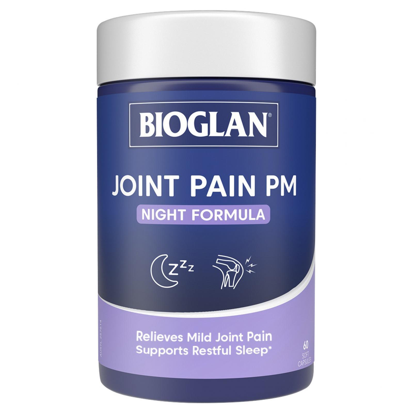 Bioglan Joint Pain PM Night Formula Capsules 60