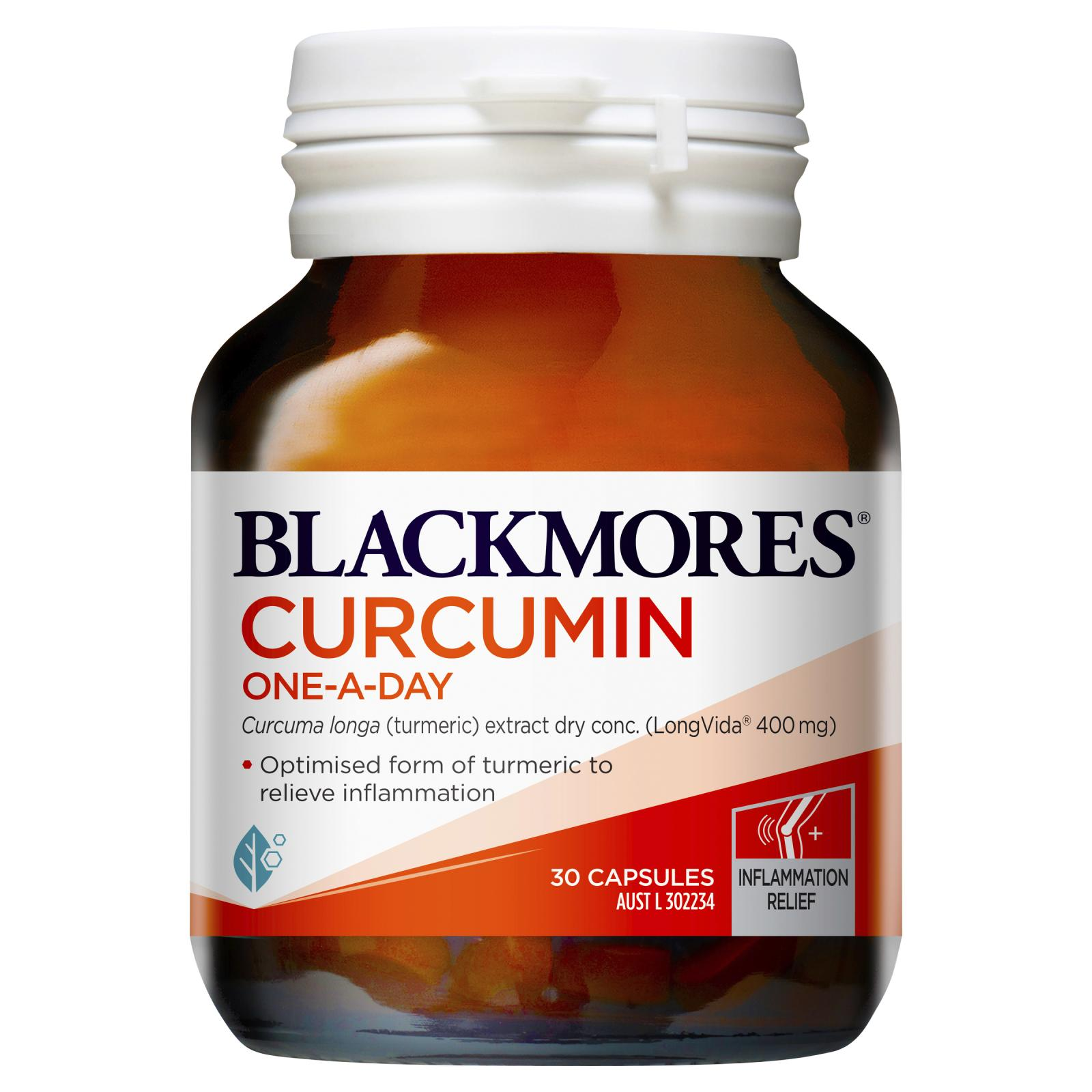 Blackmores Curcumin One-A-Day 30 Capsules