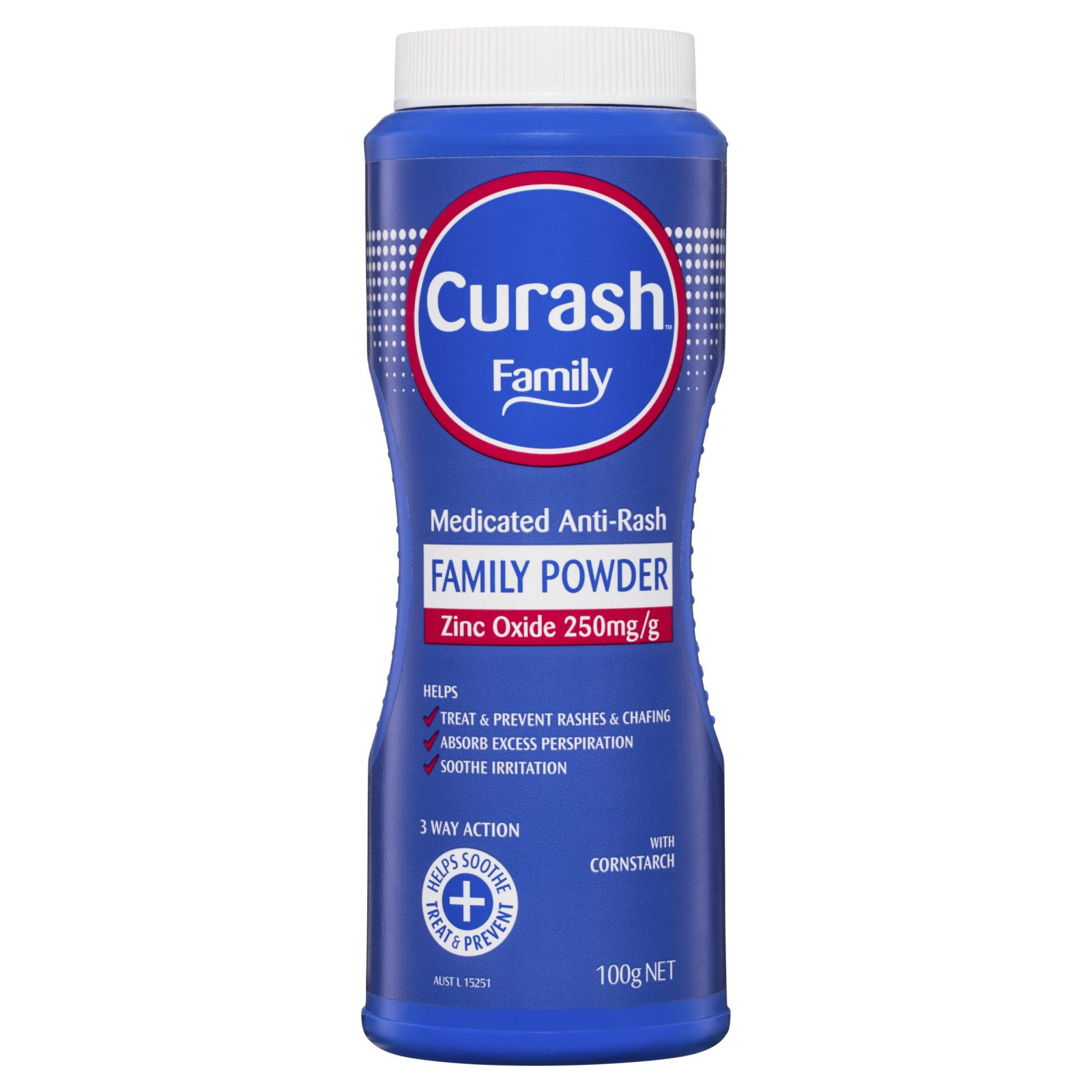 Curash Family Medicated Powder 100g
