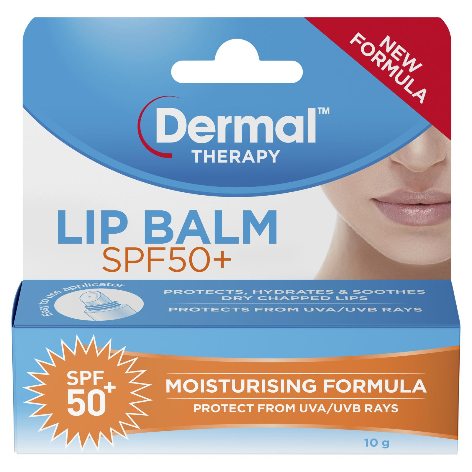 Dermal Therapy Ultra Protectant SPF 50+ Lip Balm 10g