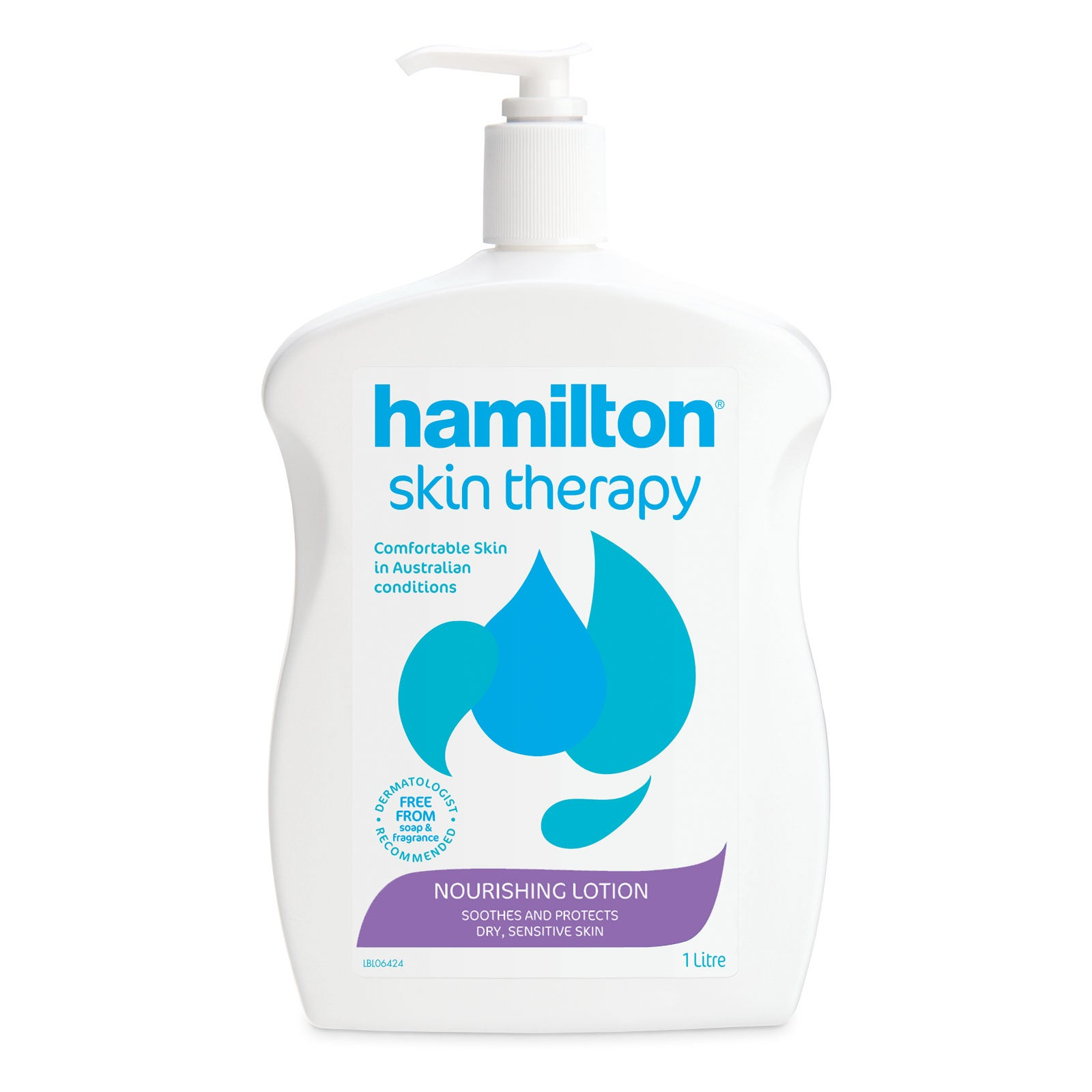 Hamilton Skin Therapy Nourishing Lotion 1 Litre
