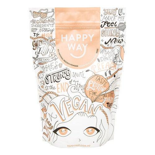 Happy Way Vegan Vanilla Pea Protein 500g