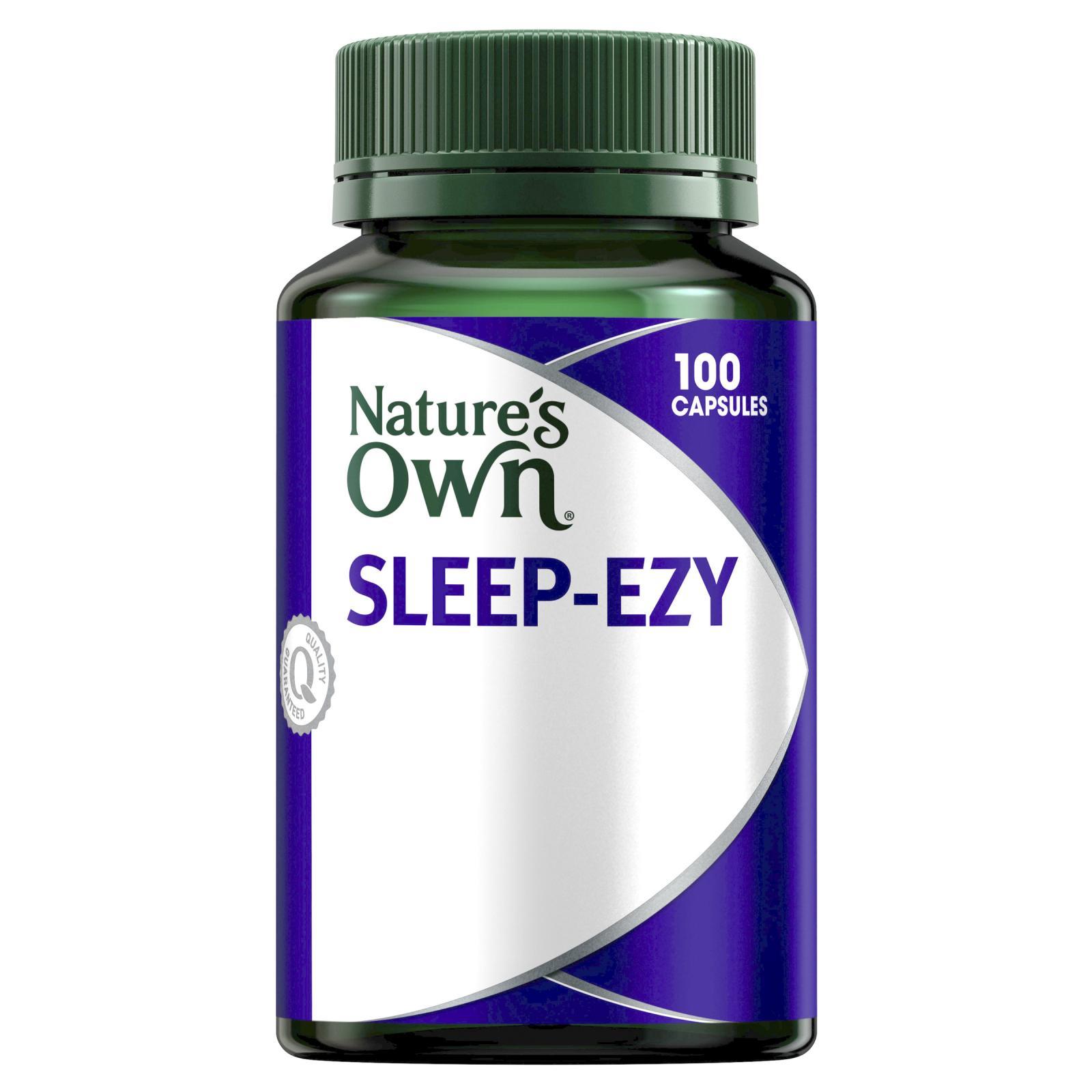 Natures Own Sleep Ezy Capsules 100